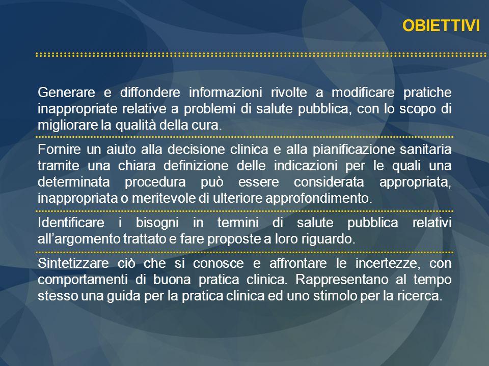 Svolgimento della conferenza di consenso, attraverso incontro pubblico Riunione per definire documento conclusivo Comunicazione delle conclusioni ai partecipanti Documento definitivo di consenso e diffusione
