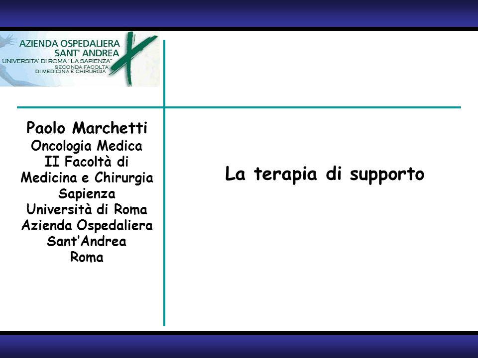 2 Paolo Marchetti Oncologia Medica II Facoltà di Medicina e Chirurgia Sapienza Università di Roma Azienda Ospedaliera SantAndrea Roma La simultaneous care!