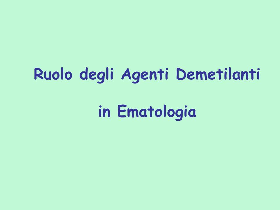 Ruolo degli Agenti Demetilanti in Ematologia