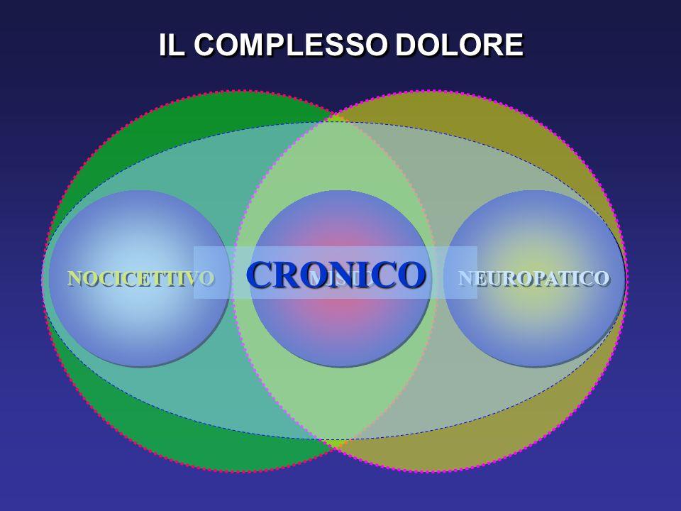 IL COMPLESSO DOLORE MISTO NEUROPATICO NOCICETTIVO CRONICO
