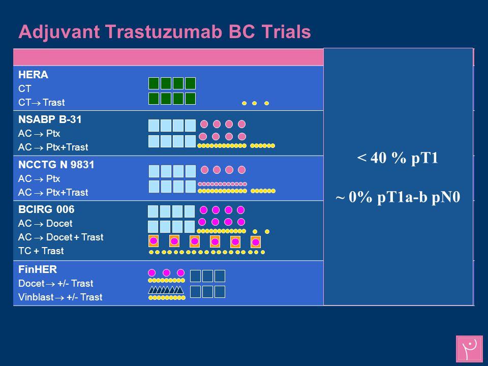 Adjuvant Trastuzumab BC Trials Severe CHFSyst.dysf.