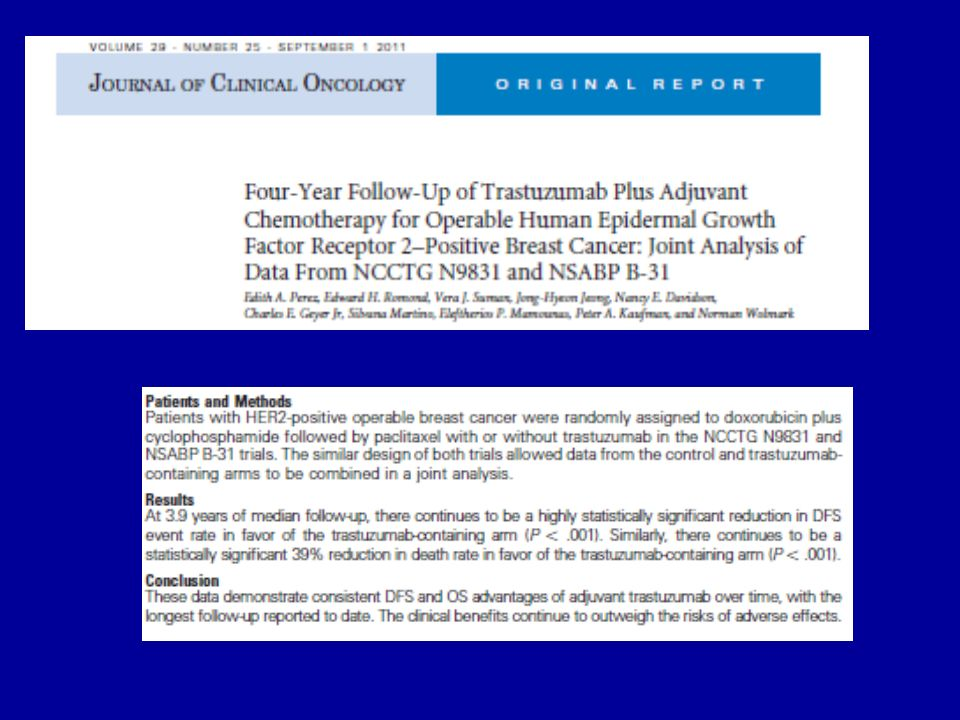Clinical outcomes of pts with HER2-overexpressing pT1a-b pN0 early breast cancer