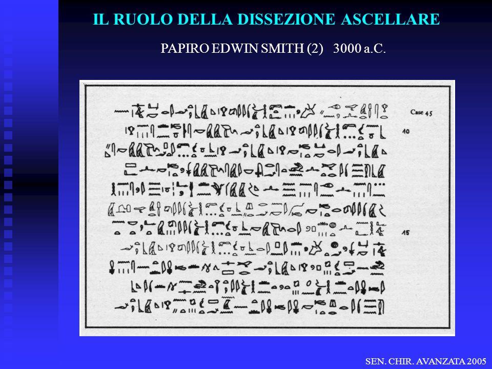 IL RUOLO DELLA DISSEZIONE ASCELLARE SIGNIFICATO TERAPEUTICO (17) OS No (p=0.5 – 10 YRS) Mast.