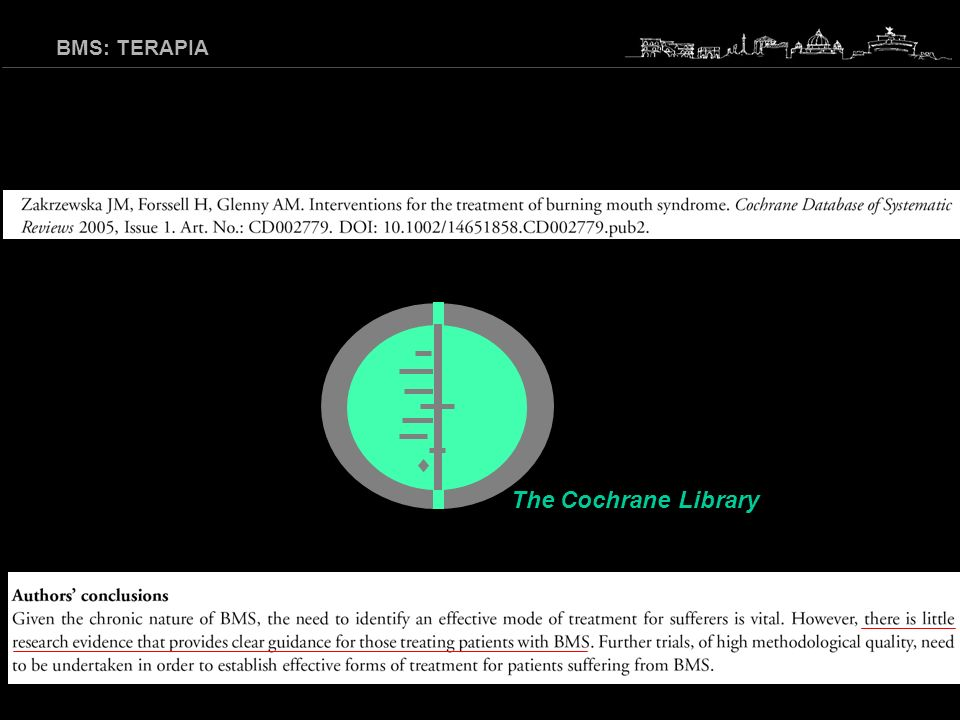 The Cochrane Library BMS: TERAPIA