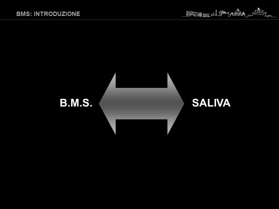 B.M.S.SALIVA BMS: INTRODUZIONE