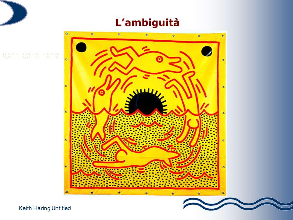 Lambiguità Keith Haring Untitled