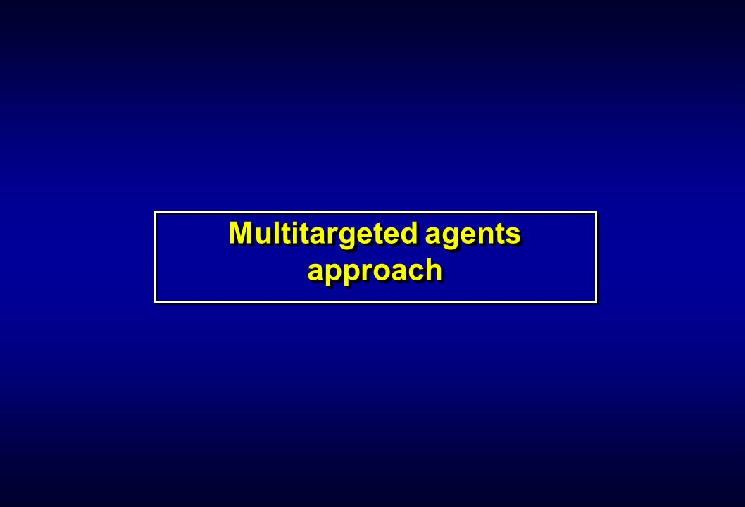 Multitargeted agents approach