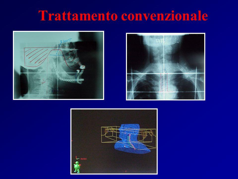 Tecnica 3D conformal 3D conformal a 5 campi Convenzionale Fogliata, Int.