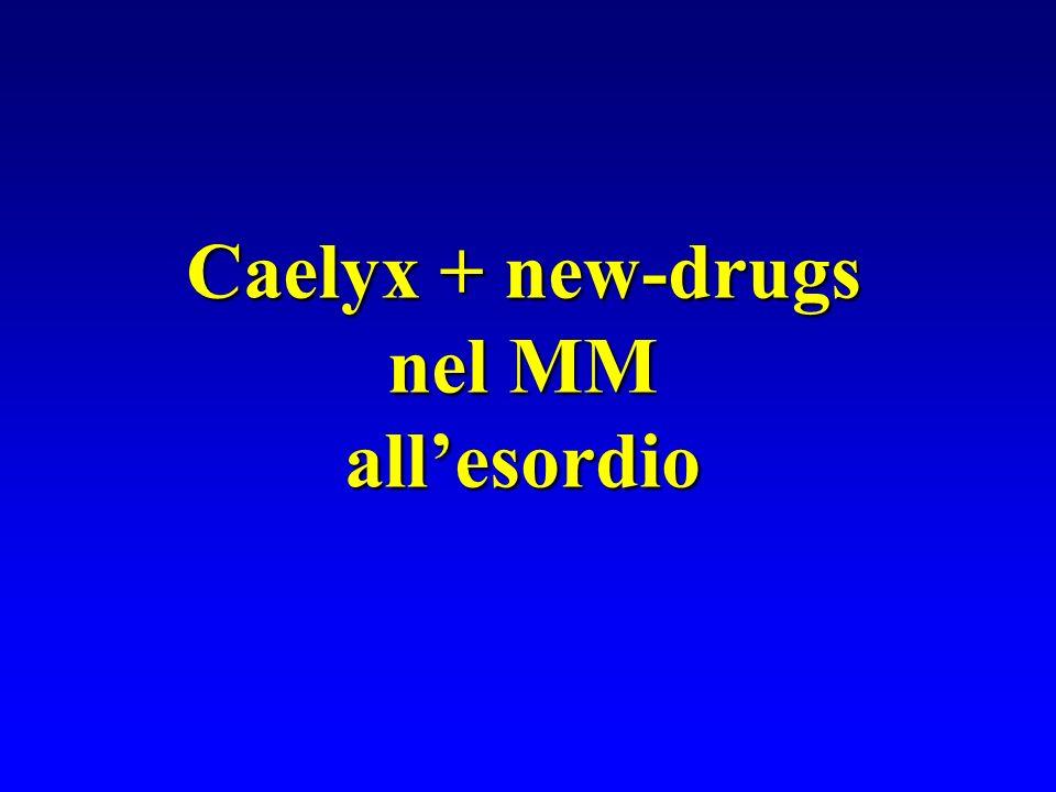 Caelyx + new-drugs nel MM nel MMallesordio