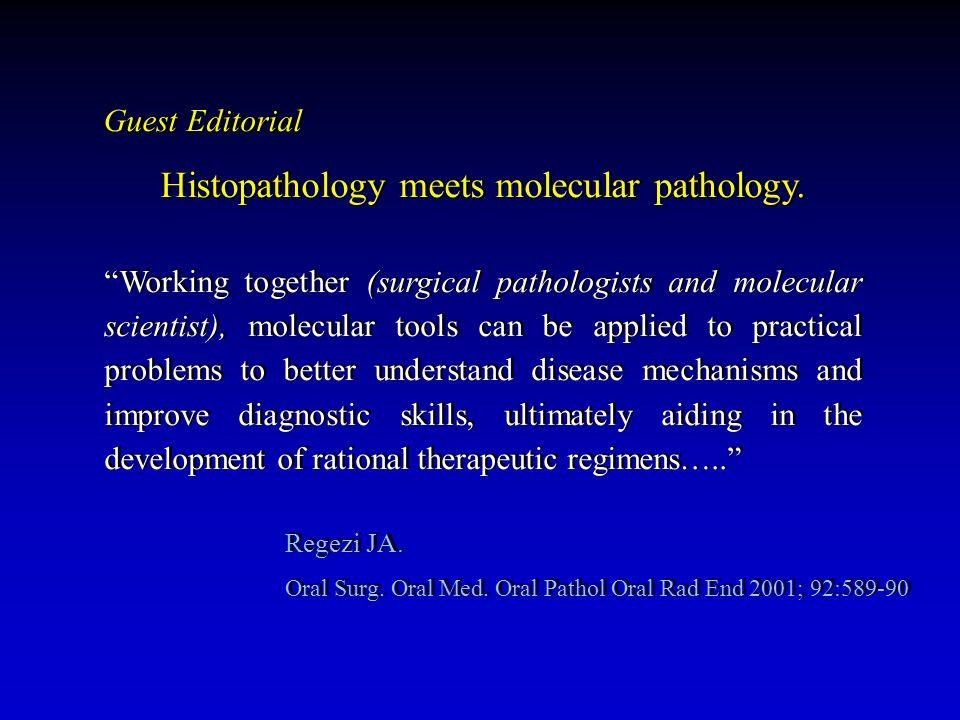 Definizione etiologica Patogenesi Terapia mirata Prognosi Definizione etiologica Patogenesi Terapia mirata Prognosi La biopsia diagnostica quando e perché.