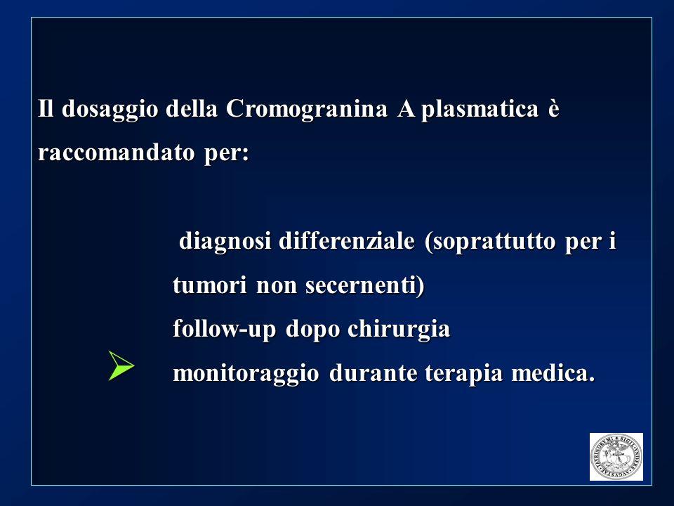 CROMaNET : Studio Osservazionale per la valutazione della Cromogranina A circolante come marker per la diagnosi ed il follow-up dei tumori neuroendocrini (NET)