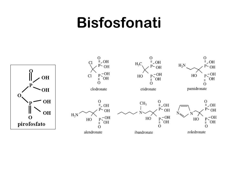 Bisfosfonati O O O OH P P pirofosfato