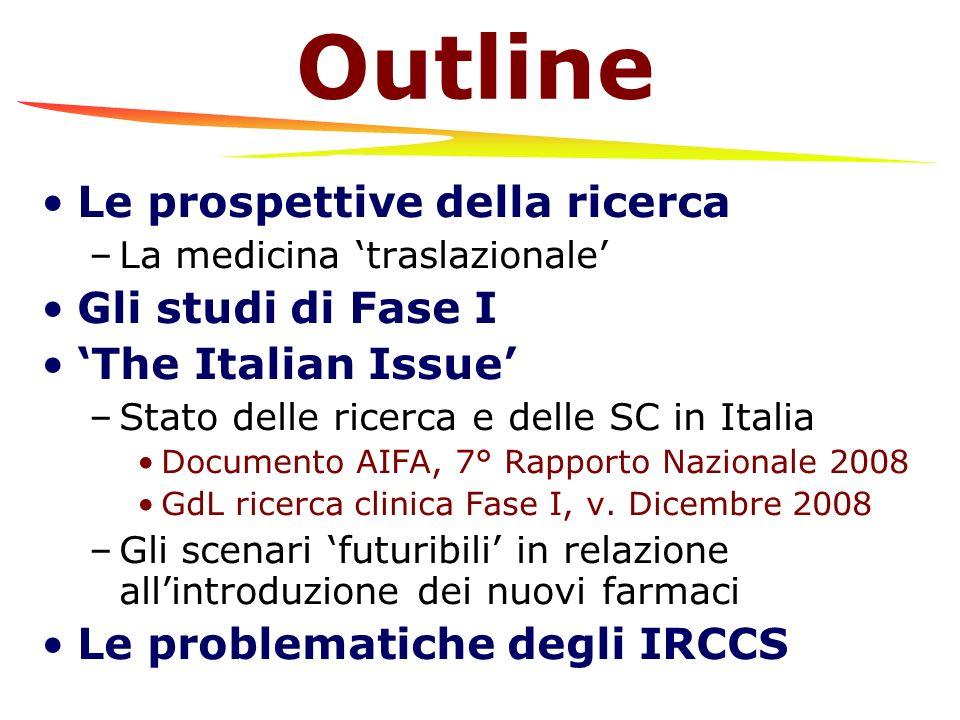 Le prospettive della ricerca: La medicina traslazionale