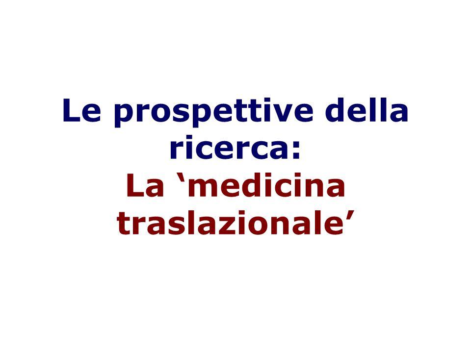 Get back to lab! Translational Medicine (from bench to bedside, and back!)