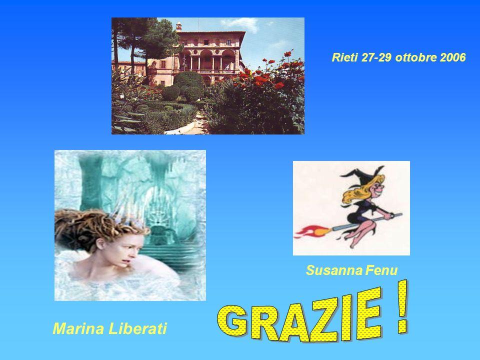 Marina Liberati Susanna Fenu Rieti 27-29 ottobre 2006