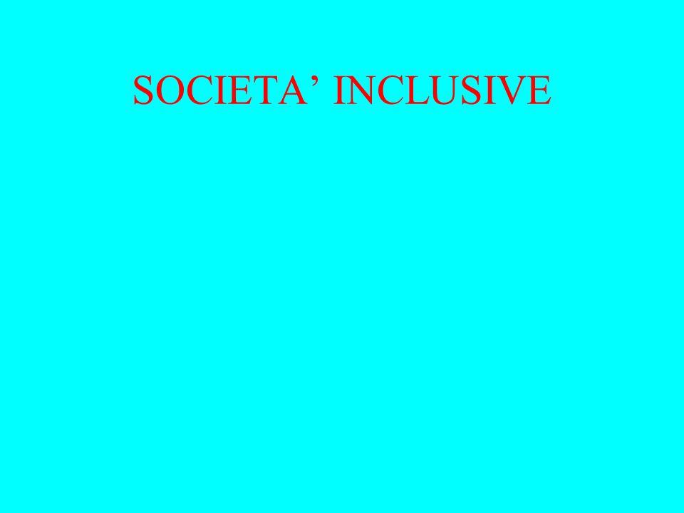 SOCIETA INCLUSIVE