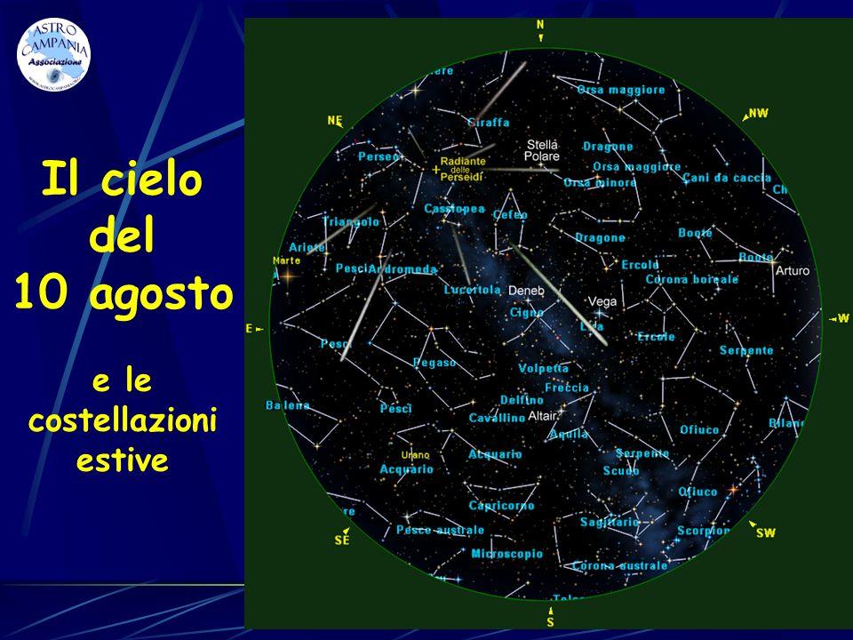 Perseo - Cassiopea – Pegaso - Andromeda Cassiopea Andromeda Perseo Pegaso Cefeo Concludiamo la descrizione del cielo estivo con le costellazioni che sorgono ad Est.