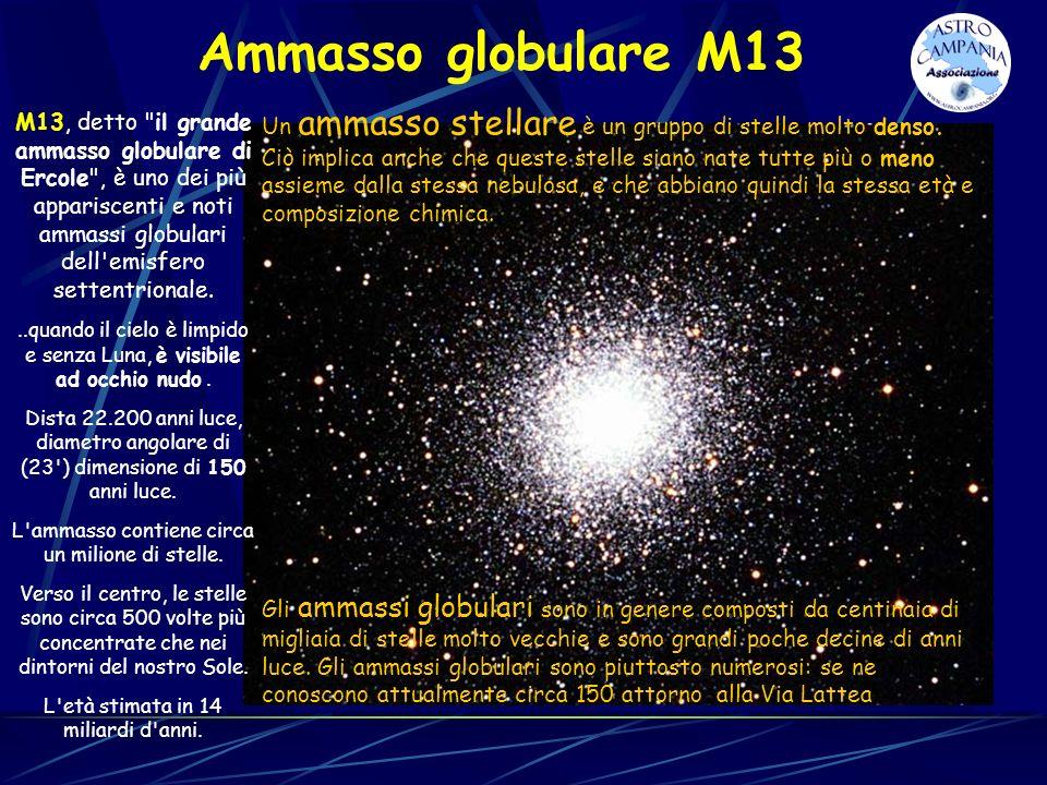 Ammasso globulare M13 M13, detto