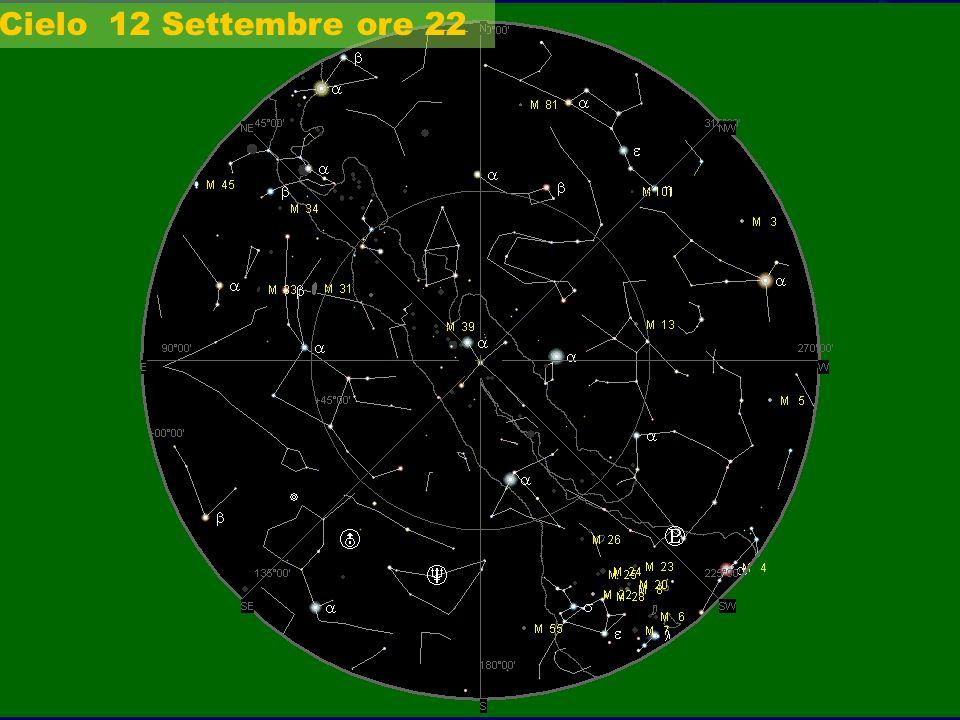 Cielo 12 Settembre ore 22