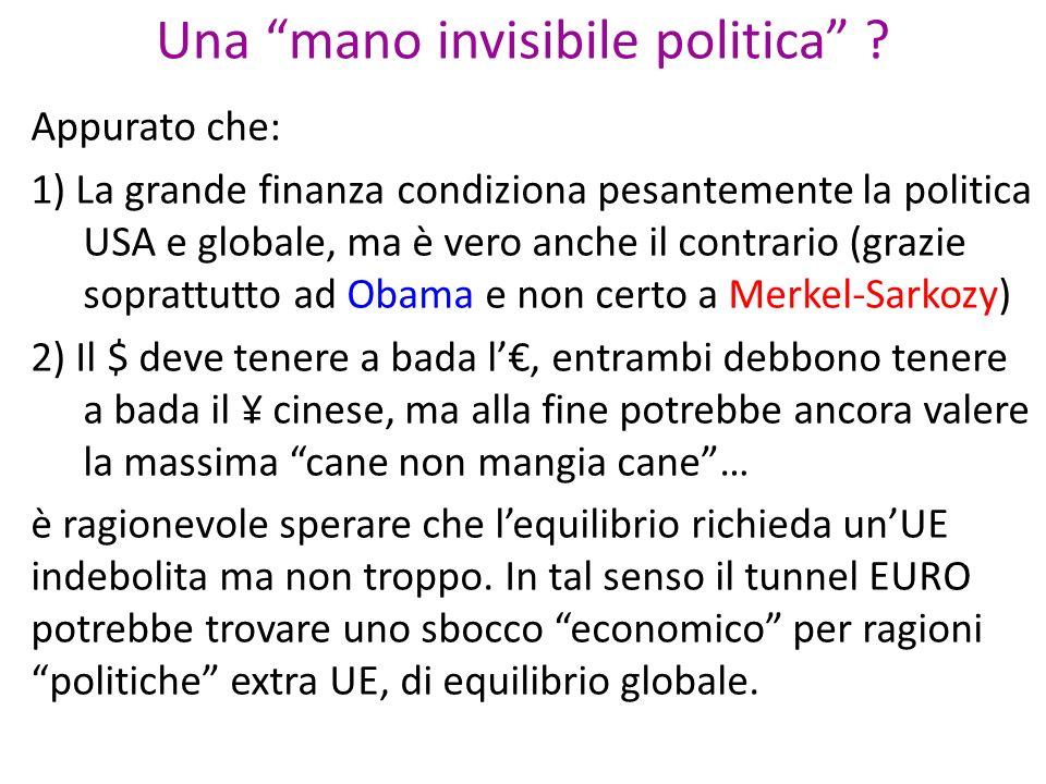 Una mano invisibile politica .