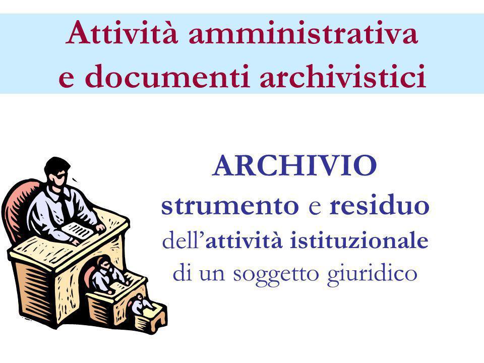 GBD titolario38 Attività di classificazione TUDA art.