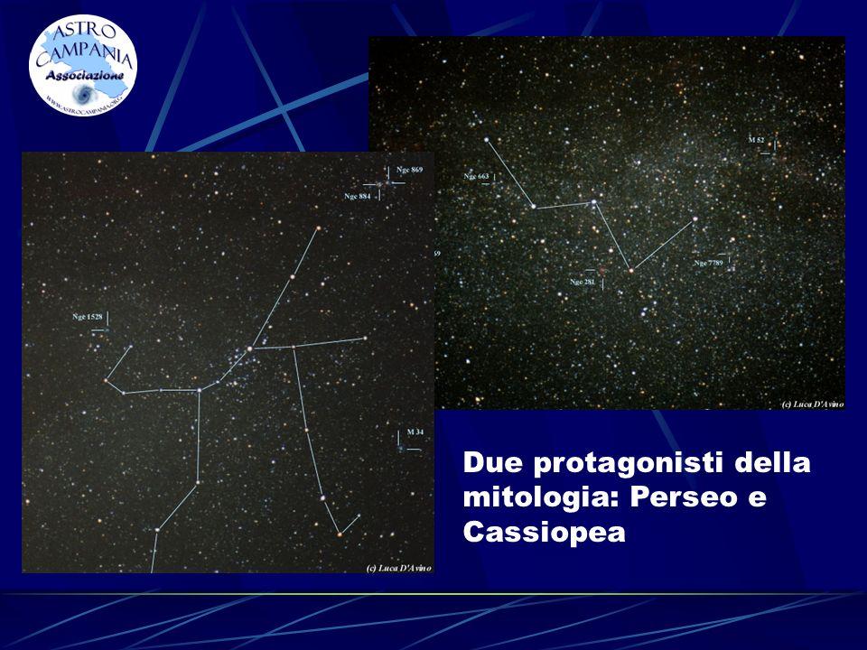 Due protagonisti della mitologia: Perseo e Cassiopea
