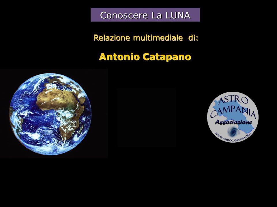 Conoscere La LUNA Relazione multimediale di: Antonio Catapano