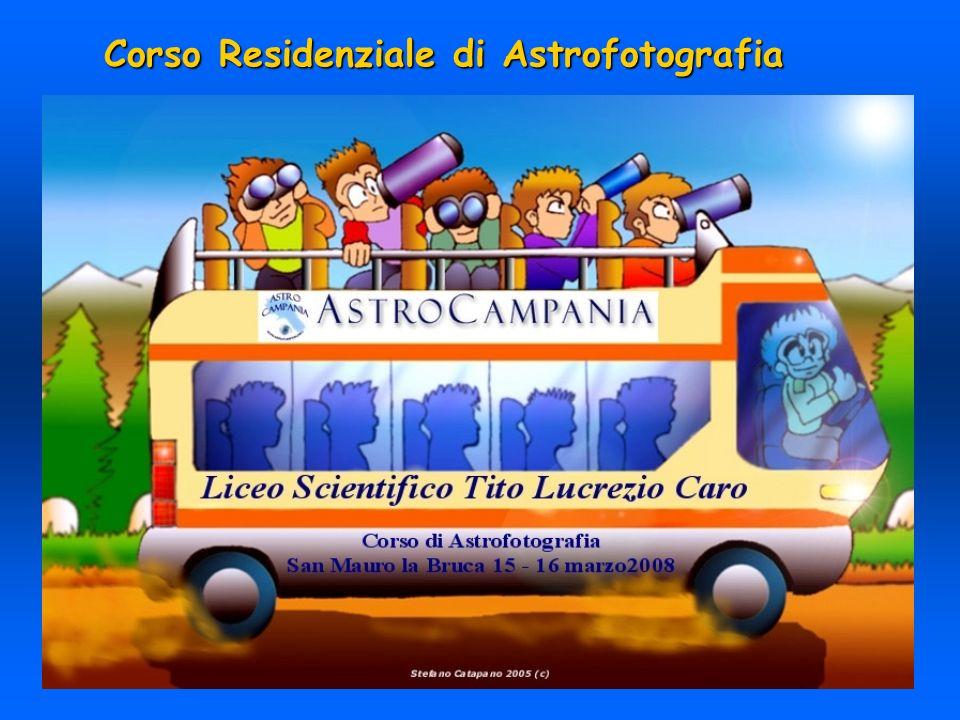 Corso Residenziale di Astrofotografia