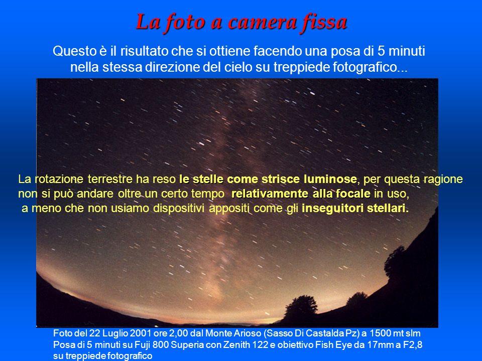Foto guidata 4 Oggetto: galassia M31 in Andromeda Autore: Antonio Catapano Tipo ripresa: Reflex Canon EOS 300D - 462sec a 800 ISO - Teleobiettivo 200mm F4 Jupiter, guidata in parallelo a 166x su Meade LX50 da 254mm F10 Luogo: Piano Ruggio 1550m s.l.m.