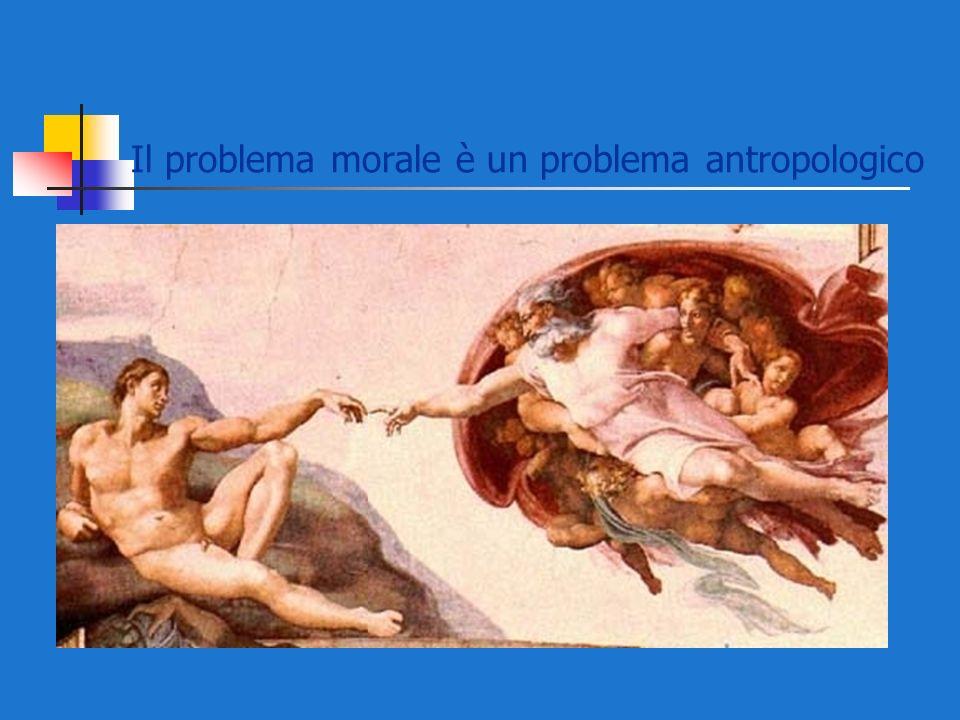 Il problema morale è un problema antropologico