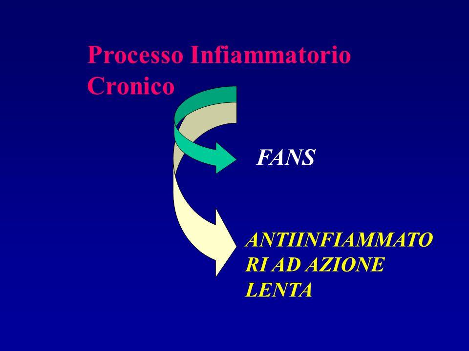 Processo Infiammatorio Cronico FANS ANTIINFIAMMATO RI AD AZIONE LENTA
