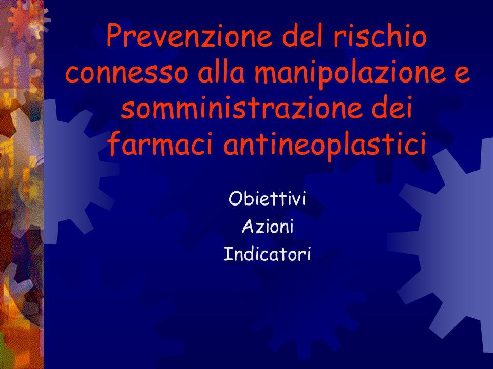 Prevenzione delle patologie del rachide Obiettivi Azioni indicatori