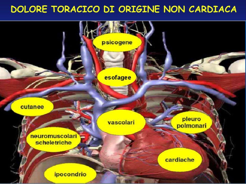 DOLORE TORACICO DI ORIGINE NON CARDIACA