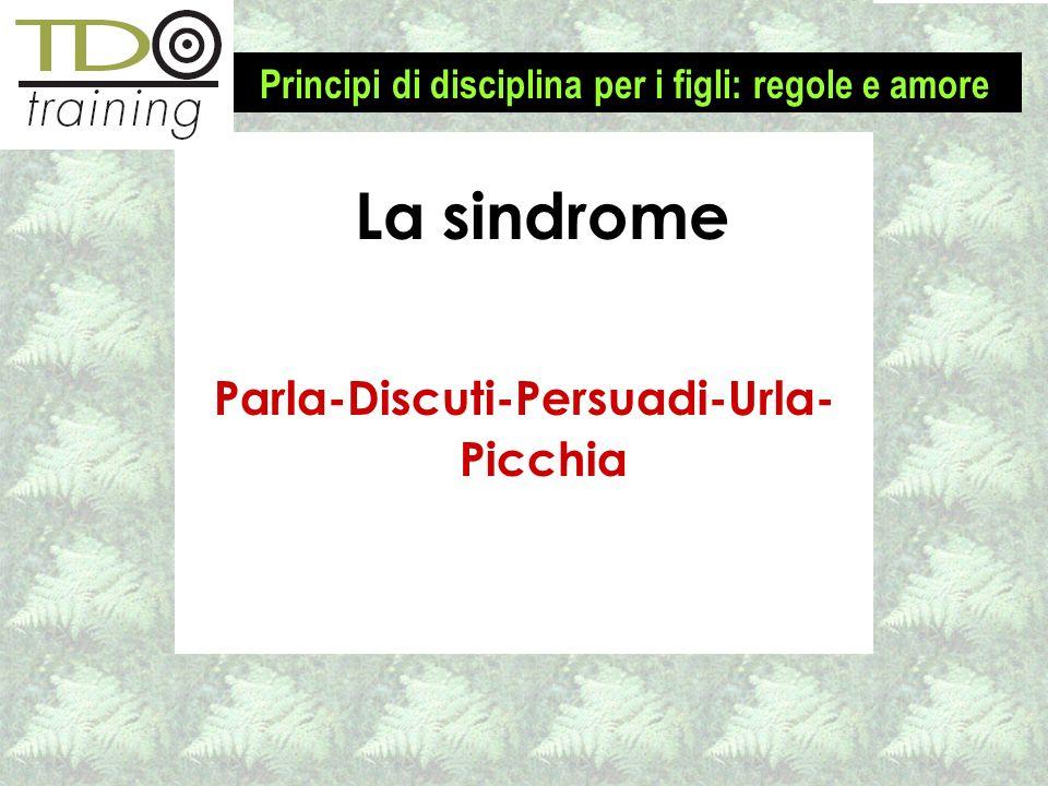 Parla-Discuti-Persuadi-Urla- Picchia 1-2-3 Magic – Disciplina efficace per bimbi 2-2 La sindrome Principi di disciplina per i figli: regole e amore