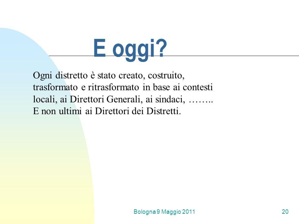 Bologna 9 Maggio 201120 E oggi.