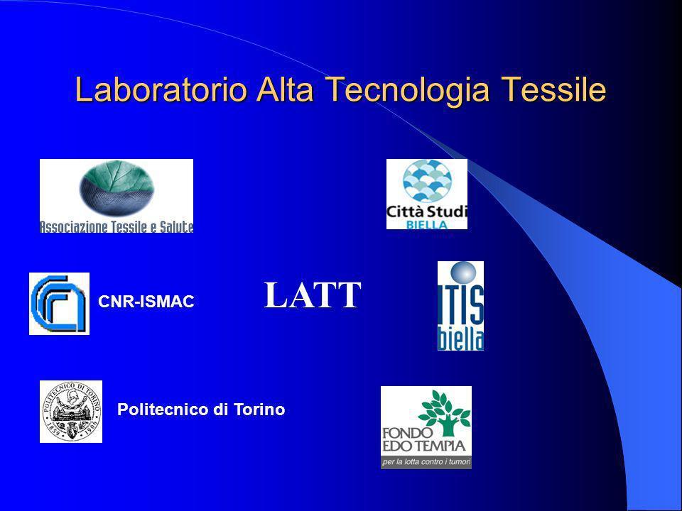 Laboratorio Alta Tecnologia Tessile CNR-ISMAC Politecnico di Torino LATT
