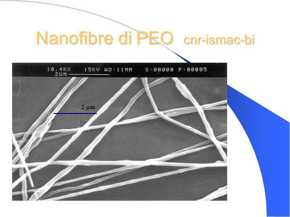 Nanofibre di PEO cnr-ismac-bi 2 m