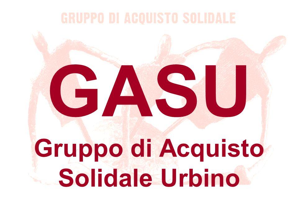 Contatti GASUrbino: Jacopo: cambieresti@yahoo.it Marco: daama@libero.it Roberto: wunderwelt@alice.it Francesco: millo_76@hotmail.com