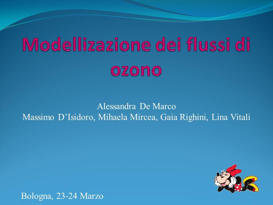 Alessandra De Marco Massimo DIsidoro, Mihaela Mircea, Gaia Righini, Lina Vitali Bologna, 23-24 Marzo