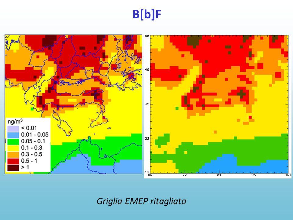 B[b]F Griglia EMEP ritagliata
