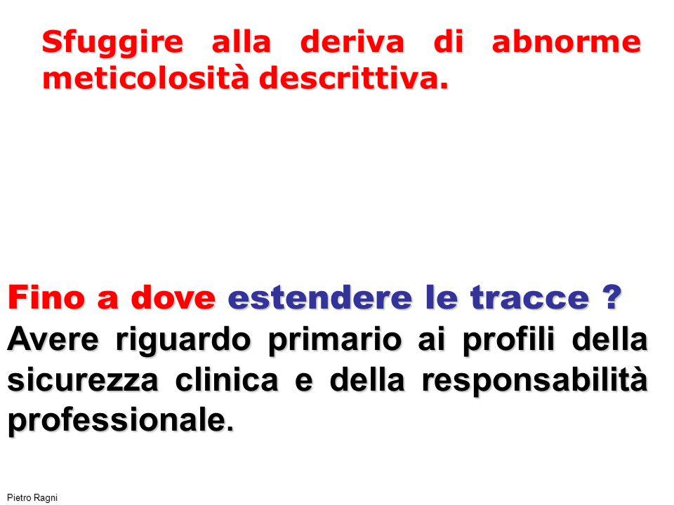 Pietro Ragni Sfuggire alla deriva di abnorme meticolosità descrittiva.