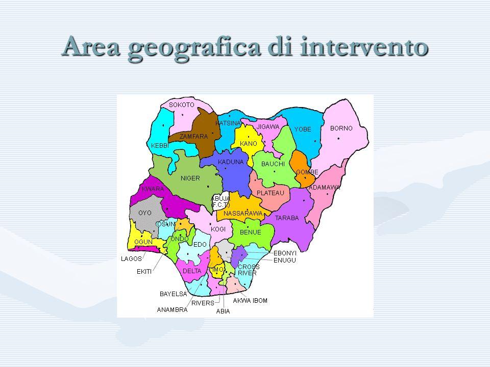 Area geografica di intervento