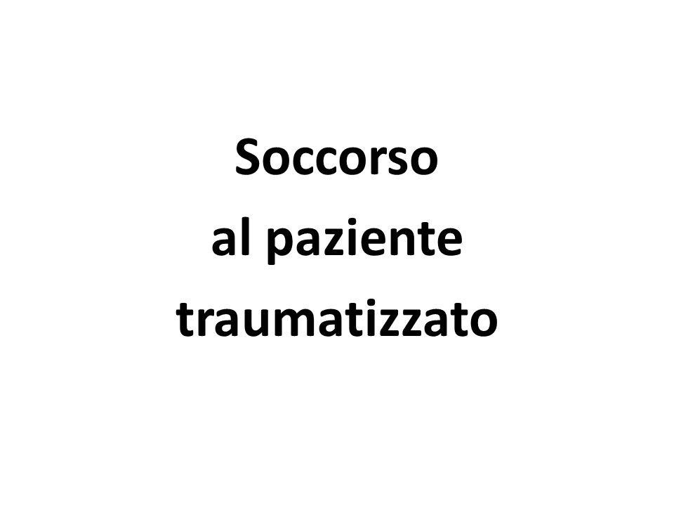 Il trauma Lesione corporea provocata per azione meccanica da un agente esterno Parte del corpo interessata Tipo di lesione (tipo di agente esterno) Energia