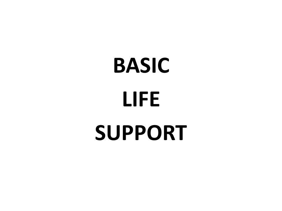 Basic Life Support Tecniche di rapida valutazione e rianimazione di base Paziente in apparente arresto cardio-respiratorio Limitare i danni in attesa che arrivi il soccorso avanzato