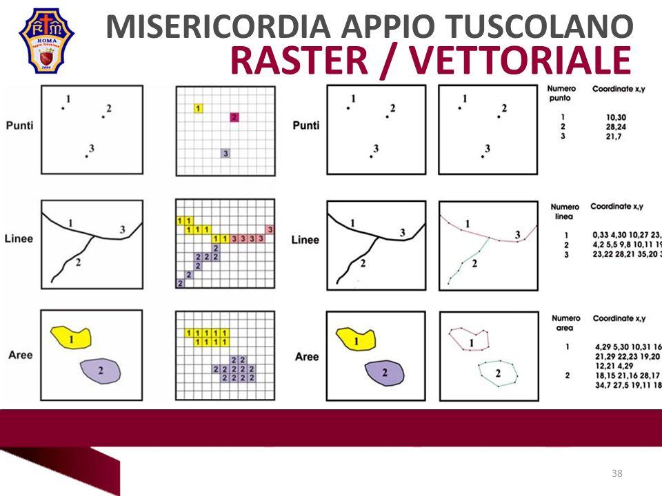 RASTER / VETTORIALE MISERICORDIA APPIO TUSCOLANO 38