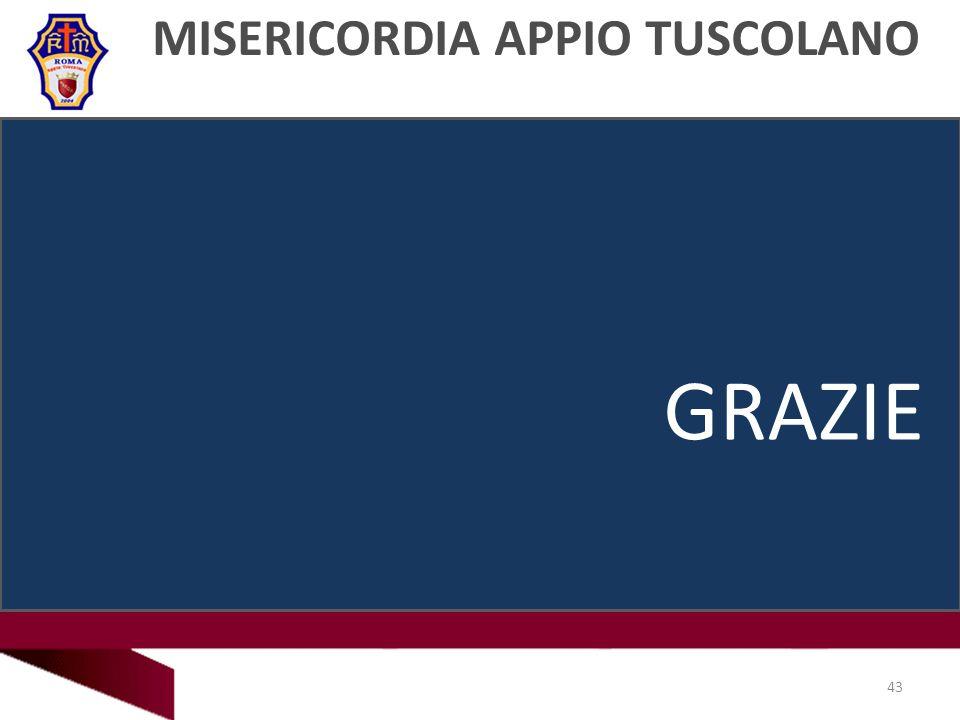 MISERICORDIA APPIO TUSCOLANO 43 GRAZIE