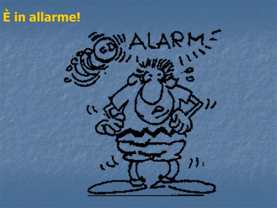 È in allarme!