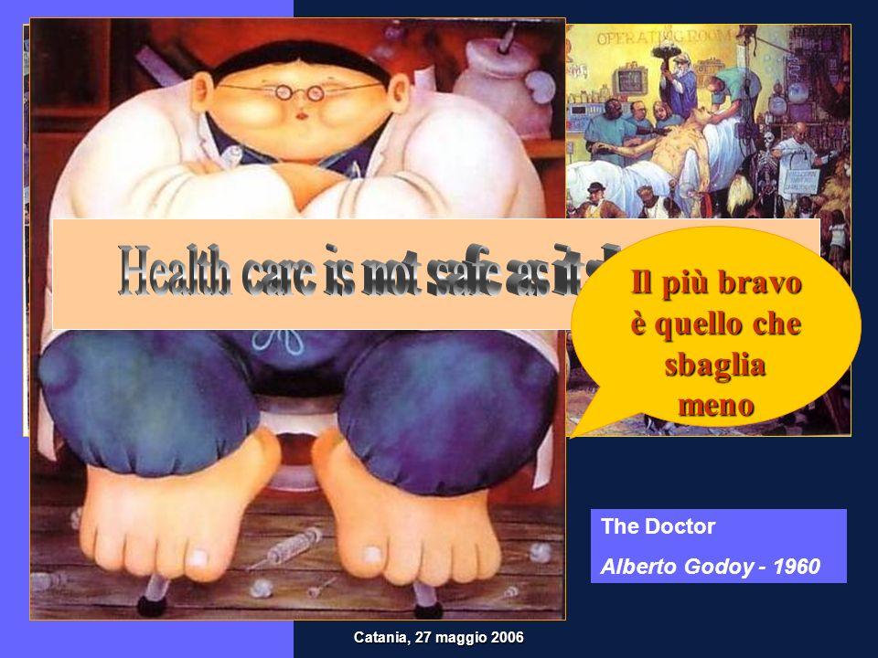 Institute of Medicine, 1999 Rapporto To Err is HumanTo Err is Human Kohn LT, Corrigan JM, Donaldson MS.