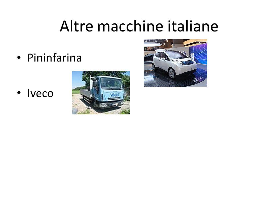 Altre macchine italiane Pininfarina Iveco