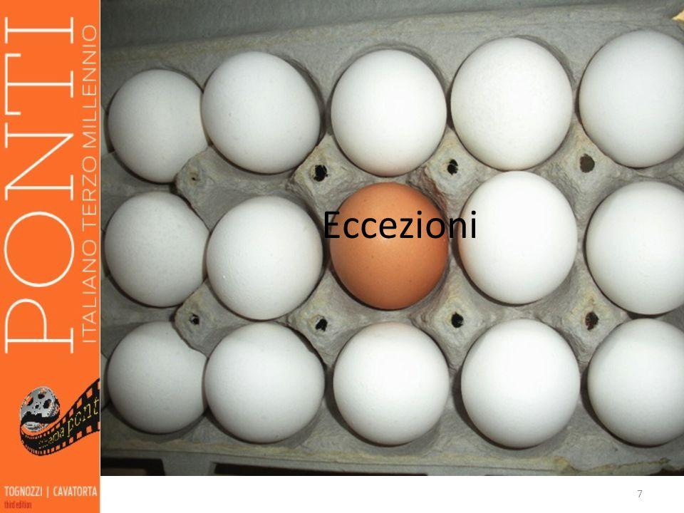 7 Eccezioni